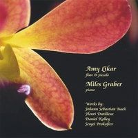 Amy Likar and Miles Graber: Flute, Piccolo, and Piano
