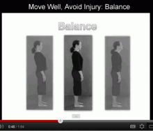 Move Well, Avoid Injury: Balance