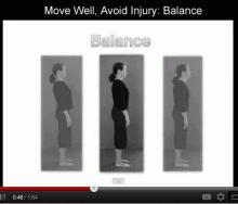 Move Well, Avoid Injury: Balance
